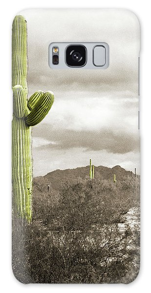 Saguaro Cactus Galaxy Case
