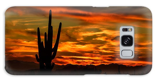 Saguaro Sunset H51 Galaxy Case