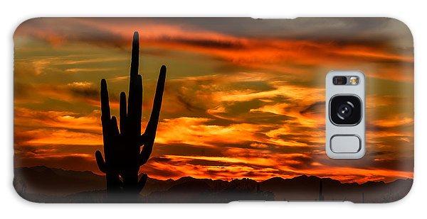 Saguaro Sunset H51 Galaxy Case