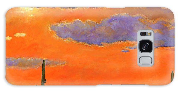 Realistic Galaxy Case - Saguaro Sunset by Johnathan Harris