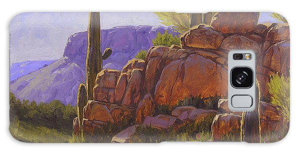 Western Galaxy Case - Saguaro Sunshine by Cody DeLong