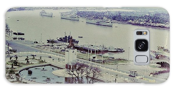 Saigon River, Vietnam 1968 Galaxy Case