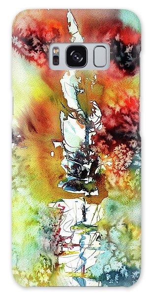 Sailboat After Storm Galaxy Case by Kovacs Anna Brigitta