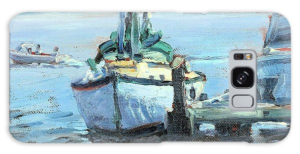 Sailboat At Rest Galaxy Case