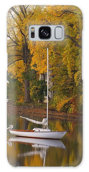 Sailboat In Alburg Vermont  Galaxy Case by George Robinson