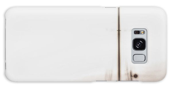 Sailboat In Fog Galaxy Case