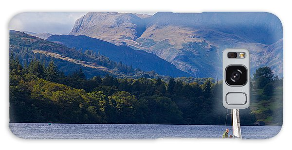 Galaxy Case - Sailboat In Lake Windermere by Iordanis Pallikaras