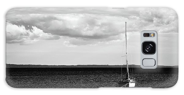 Sailboat In The Bay Galaxy Case by Onyonet  Photo Studios