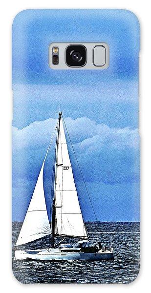 Sailboat No. 143-1 Galaxy Case