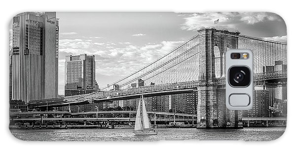 Sailboat On The East River Galaxy Case