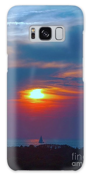 Sailboat Sunset Galaxy Case by Todd Breitling