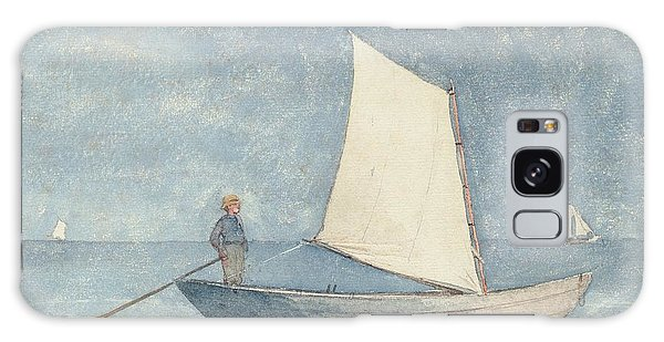 Boat Galaxy S8 Case - Sailing A Dory by Winslow Homer