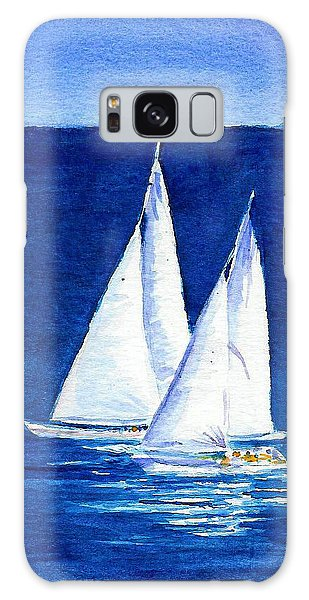 Sailing Galaxy Case by Anne Marie Brown