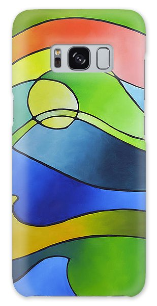 Sailing Away, Canvas Three Galaxy Case