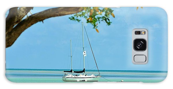 Sailing Away To Key Largo Galaxy Case