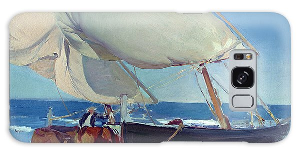 Boat Galaxy Case - Sailing Boats by Joaquin Sorolla y Bastida