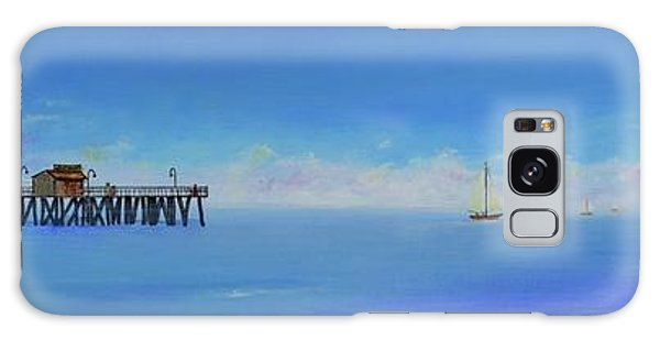 Sailing By San Clemente Galaxy Case