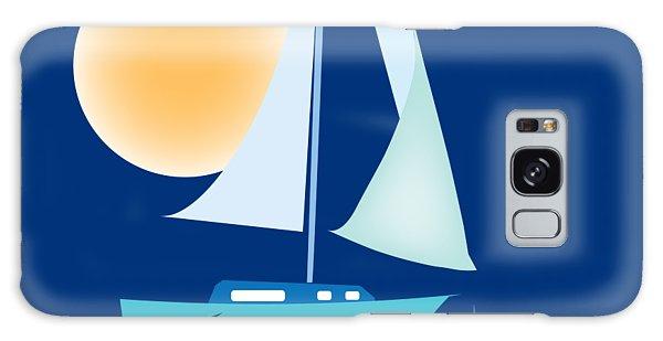 Sailing Day Galaxy Case