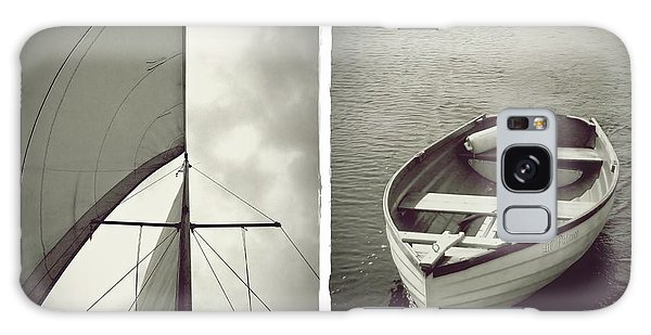 Sailing Diptych Galaxy Case
