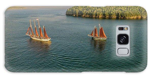 Sailing Frenchman Bay Galaxy Case