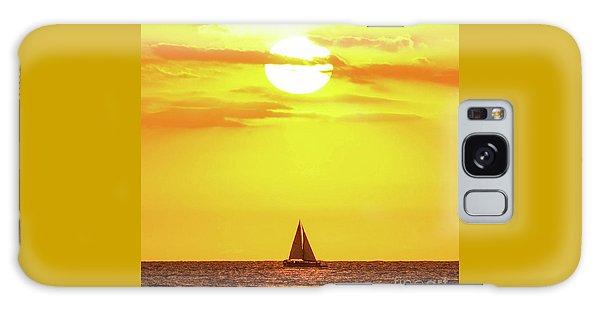 Sailing In Hawaiian Sunshine Galaxy Case