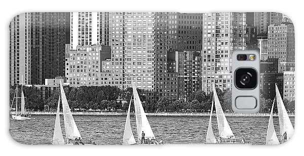 Sailing In New York Harbor No. 3-1 Galaxy Case