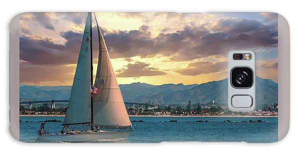 Sailing In San Diego Galaxy Case