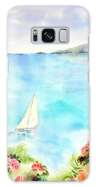 Sailing In The Caribbean Galaxy Case