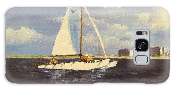 Sailing In The Netherlands Galaxy Case by Jack Skinner