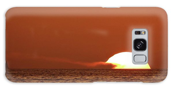 Sailing In The Sunset Galaxy Case