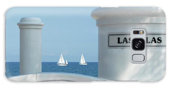 Sailing Las Olas Galaxy Case