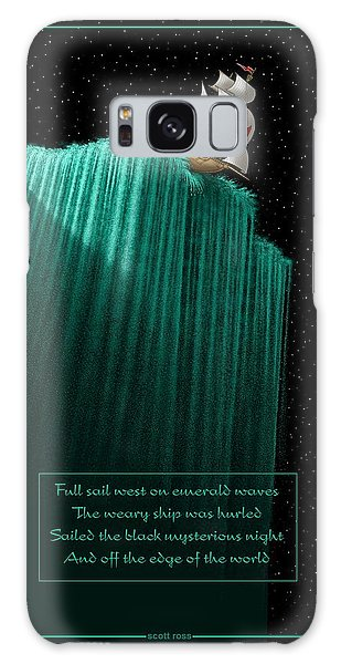 Sailing Off The Edge Of The World Galaxy Case