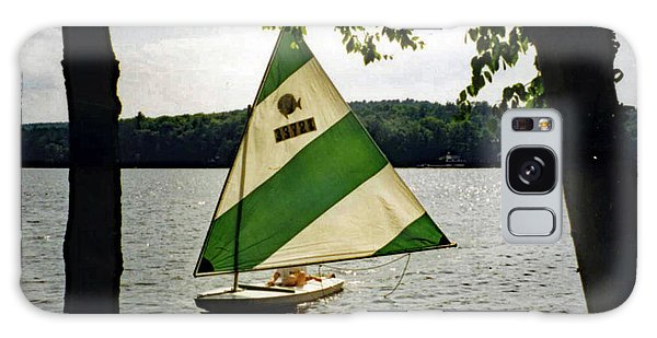 Sailing On Lake Dunmore No. 1 Galaxy Case