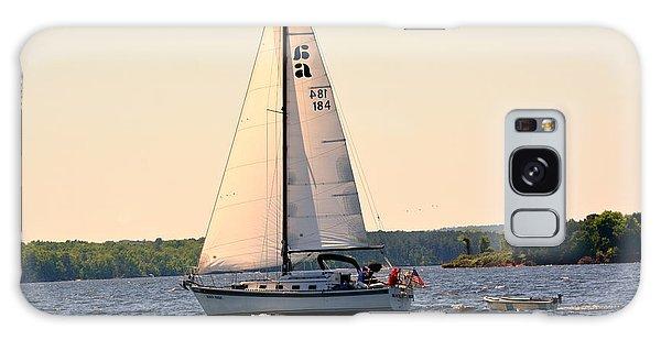 Sailing On Lake Murray Sc Galaxy Case