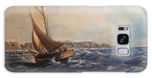 Sailing On Narragansett Bay Galaxy Case
