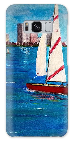 Sailing On The Charles Galaxy Case