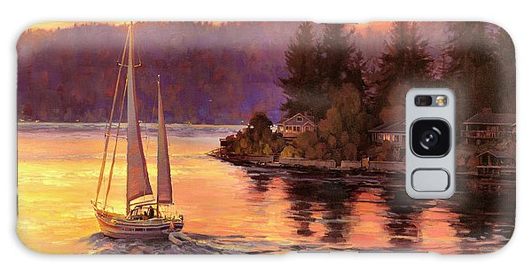 Reflections Galaxy Case - Sailing On The Sound by Steve Henderson