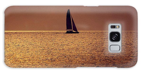 Sailing Galaxy Case by Steven Sparks