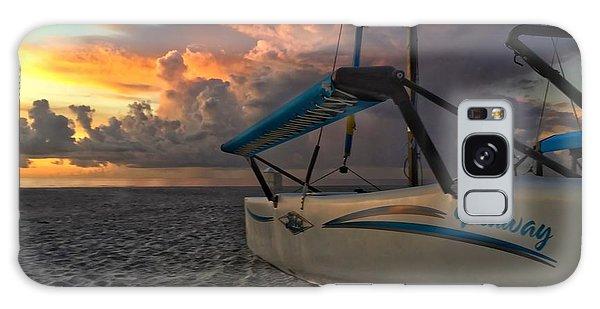 Sailing Still Galaxy Case