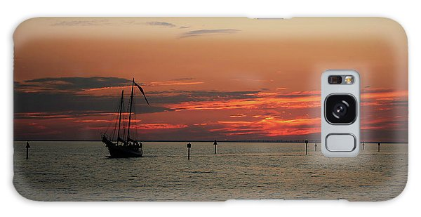 Sailing Sunset Galaxy Case