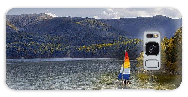 Sailing The Mountain Lakes Galaxy Case