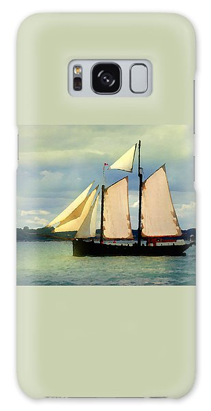 Sailing The Sunny Sea Galaxy Case