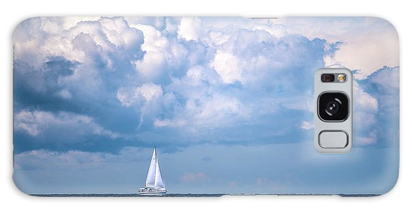 Sailing Under The Clouds Galaxy Case