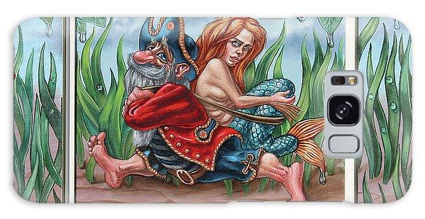 Sailor And Mermaid Galaxy Case