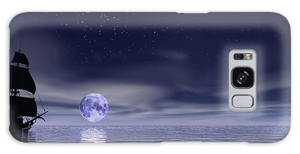 Sails Beneath The Moon Galaxy Case