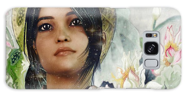Saint Anna Wang Light Of China Galaxy Case by Suzanne Silvir