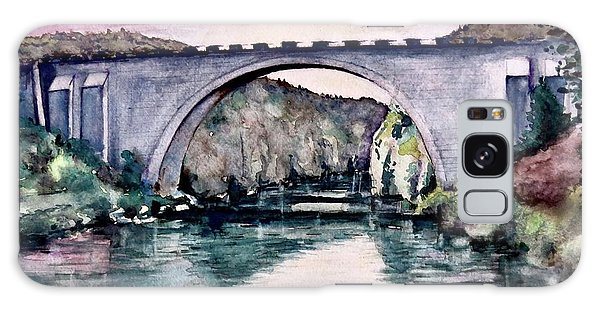 Saint Bridge Galaxy Case by Geni Gorani