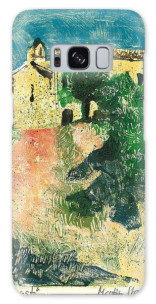 Saint Donat Provence Galaxy Case by Martin Stankewitz