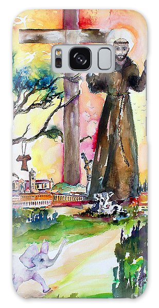 Saint Francis Of Assisi Italy  Galaxy Case