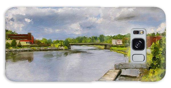 Saint John River Painting Galaxy Case